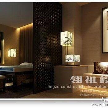中式风格足疗店装修案例