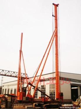 长螺旋灌注桩设计要求是5米,场地原因先 -长螺旋钻机