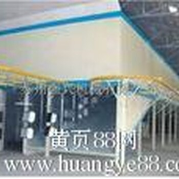广州回收二手喷涂设备回收二手烤漆生产线回收二手涂装设备二手水濂柜喷粉生产线收购