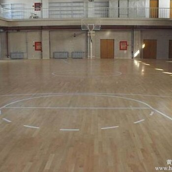 专业体育木地板-实木运动地板-篮球场专用木地板_篮球场地木地板图